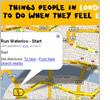 Detail of screenshot of I Feel London's website