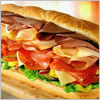 Huge Subway sandwich